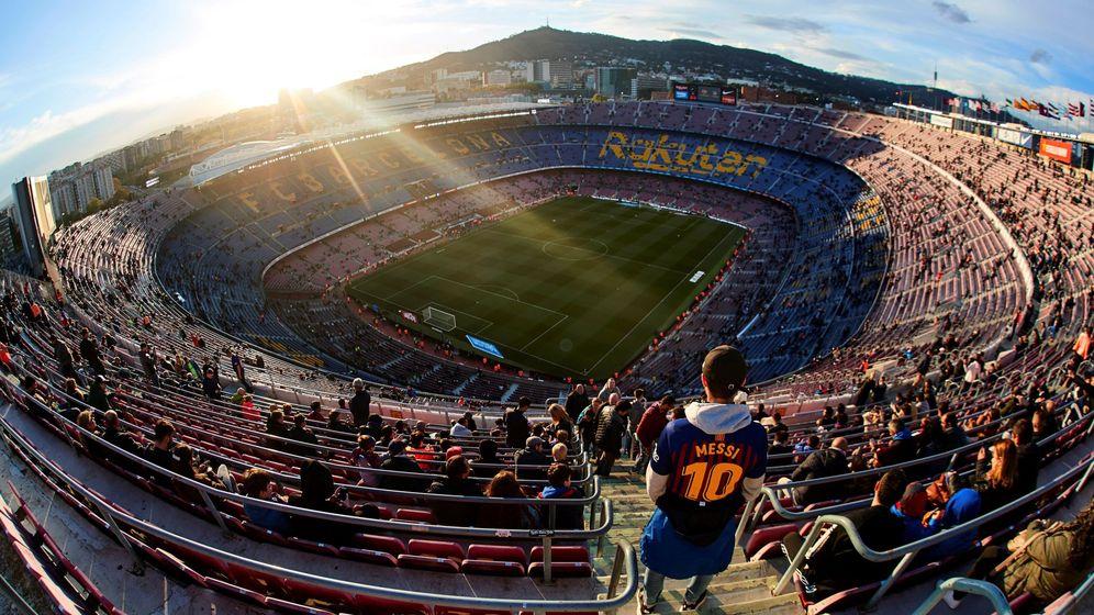 Foto: Vista del Camp Nou. (EFE)