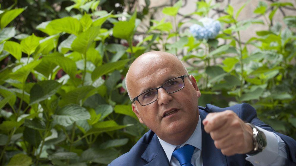 Foto: El presidente de la Diputación de Ourense, José Manuel Baltar. (EFE)
