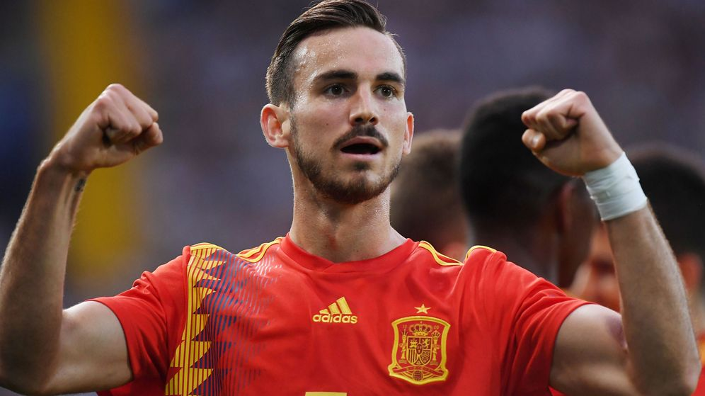 Foto: Fabián Ruiz celebra un gol con la Selección española Sub-21. (EFE)