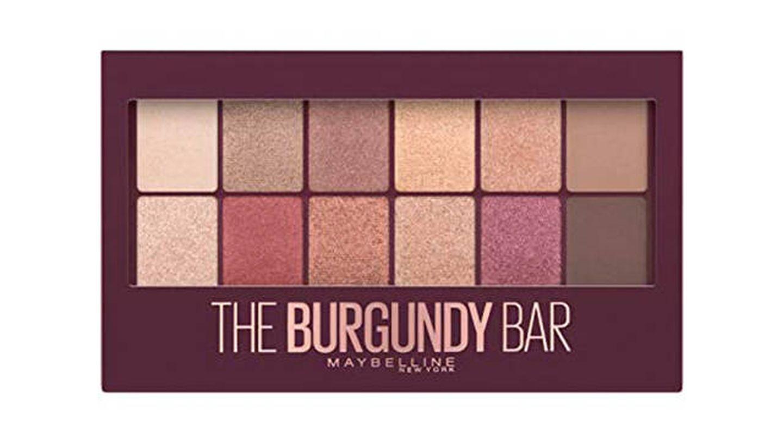 Paleta de sombras de ojos The Burgundy Bar de Maybelline