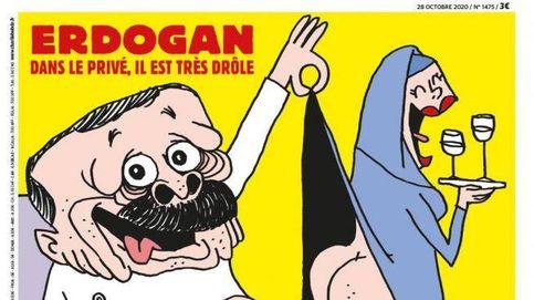 Turquía abre una investigación a la revista gala 'Charlie Hebdo' por insultar a Erdogan