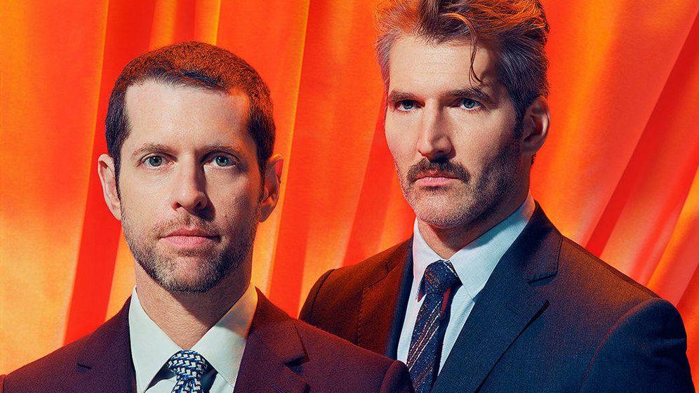 Foto: D.B. Weiss y David Benioff, creadores de 'Juego de Tronos'. (Time)