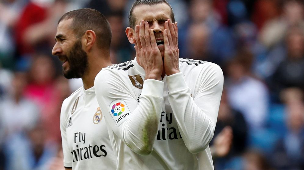 Foto: Gareth Bale no termina de engancharse a la temporada. (Reuters)