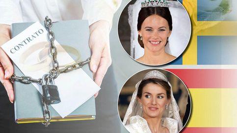 Revelan el contrato matrimonial de Sofía Hellqvist y es peor que el de Letizia