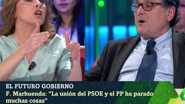 'La Sexta noche' | Angélica Rubio estalla con Marhuenda: Hasta el gorro de tus insultos