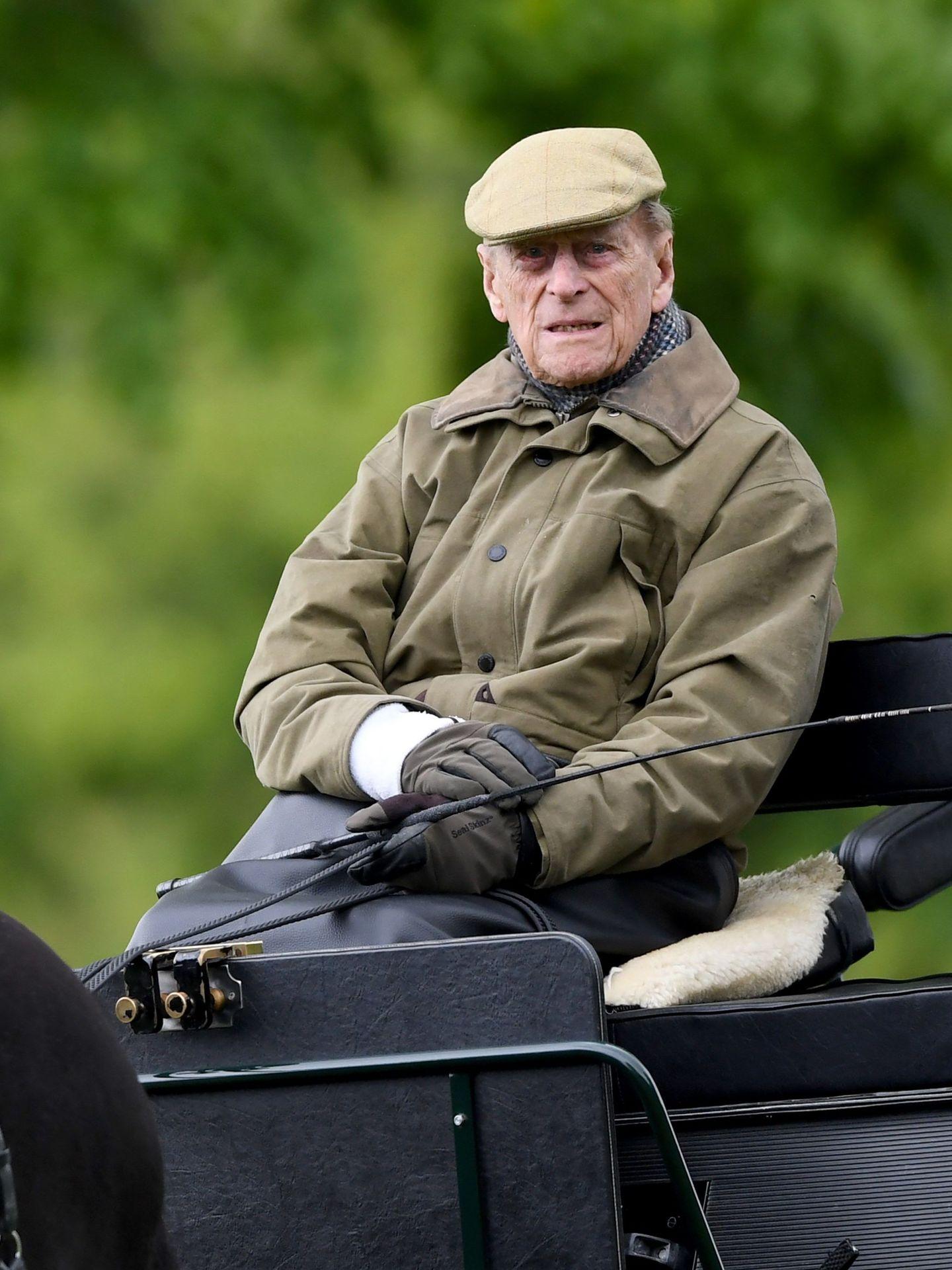 El duque de Edimburgo, en una imagen de archivo. (EFE)