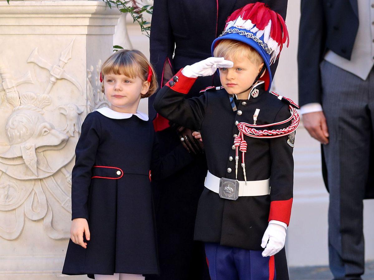 Foto: Jacques y Gabriella, durante las celebraciones del Día Nacional. (Reuters)