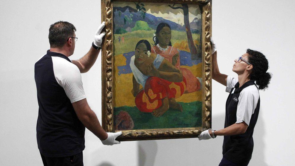 Foto: Nafea faa ipoipo, de Gauguin, cuelga ya en el Museo Reina Sofía (EFE)