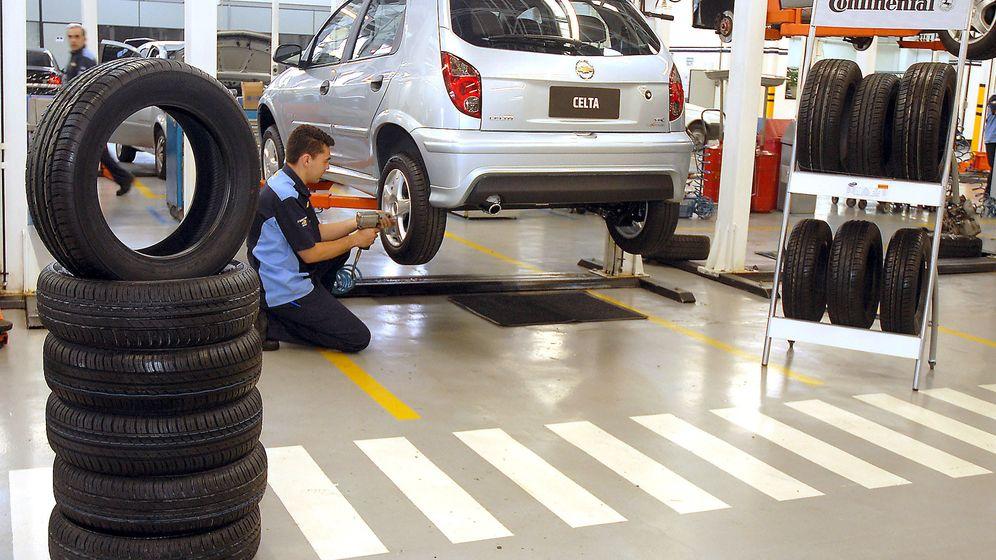 Foto: Cambio de neumáticos