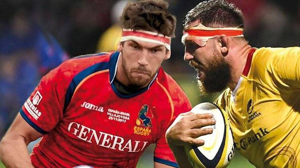 Foto: España y Rumanía se juegan una plaza. (Foto: Twitter de @Ferugby)