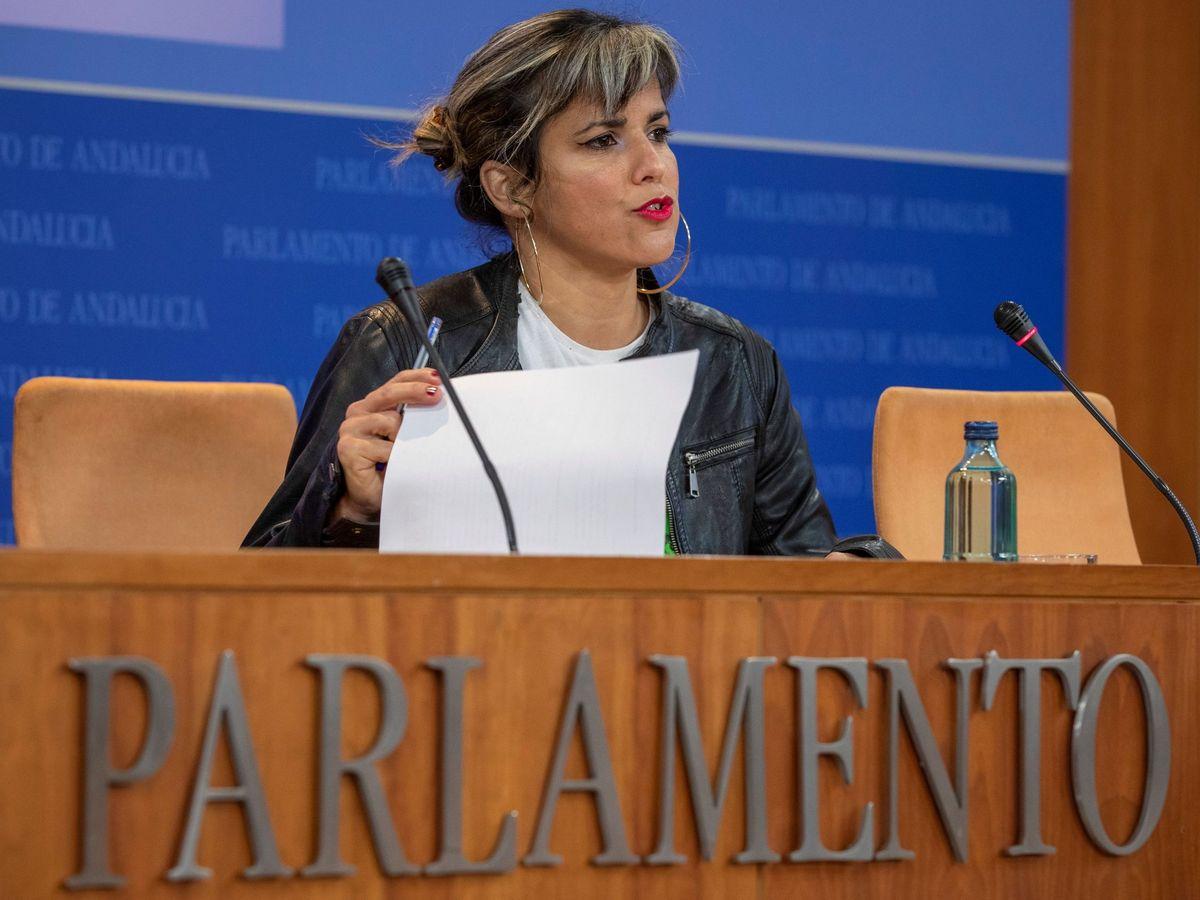 Foto: Imagen de archivo de Teresa Rodríguez. (EFE)