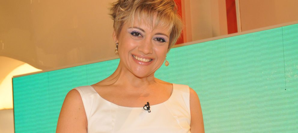 Foto: La presentadora Gloria Serra en la presentación del programa '3D' (Gtres)