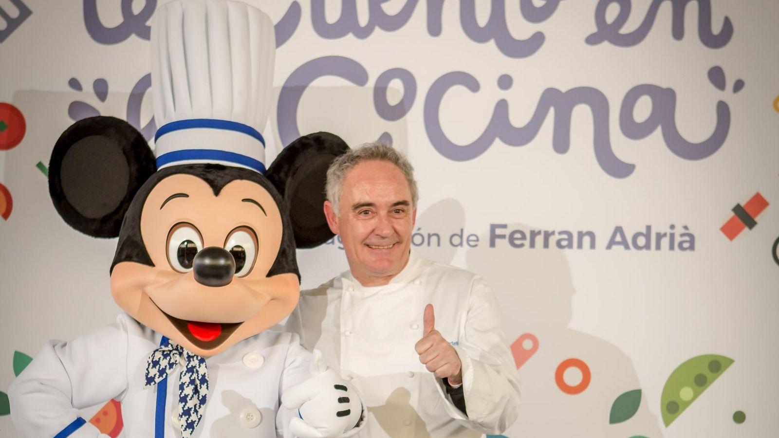 Foto: Ferrán Adrià y Disney