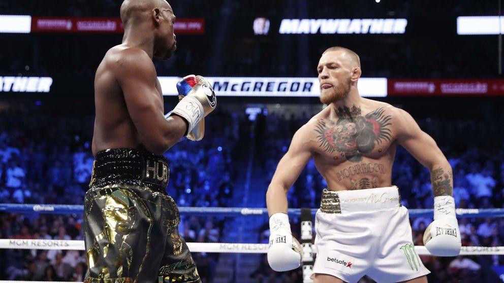 Mayweather impone la ley del boxeo y gana a McGregor antes de tiempo