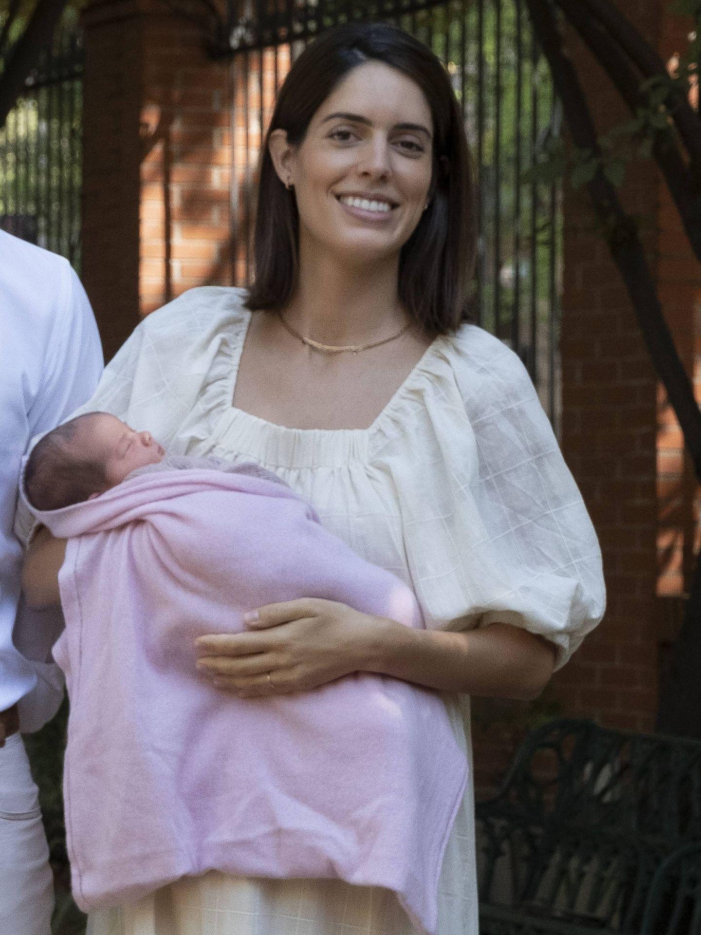 Sofía Palazuelo, en la presentación de su hija. (Cordon Press)