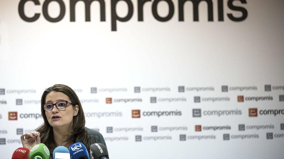 Foto: La candidata de Compromís a la Presidencia de la Generalitat Valenciana, Mònica Oltra. (EFE)