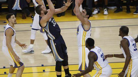 Marc Gasol lidera la remontada de los Grizzlies ante los Warriors de Curry