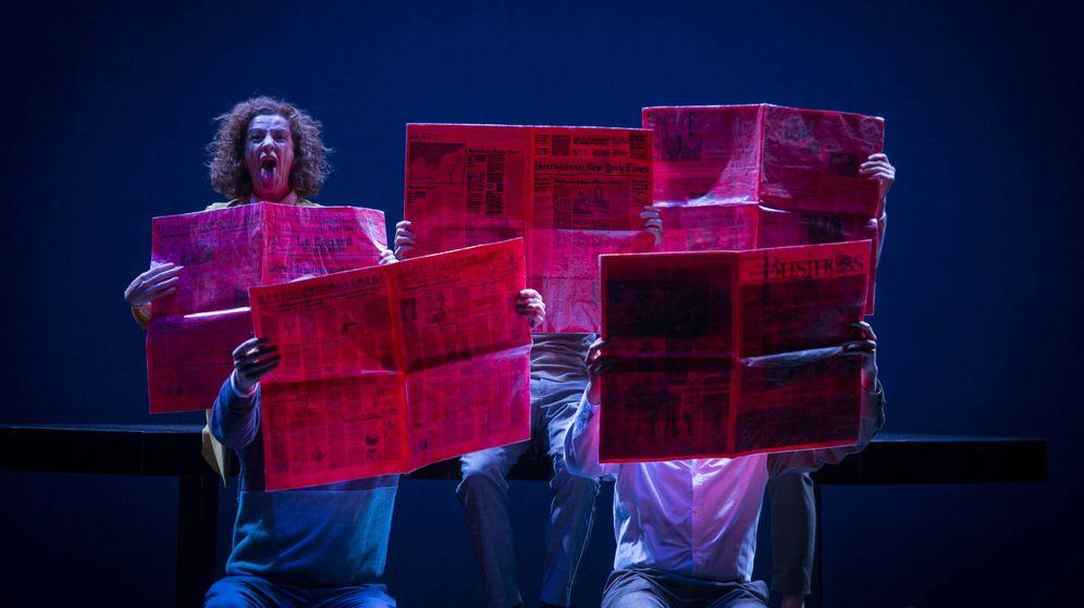 Foto: El Joglars estrena en Madrid 'Zenit' (David Ruano)