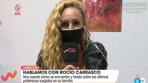 La tensa y fugaz reaparición de Rocío Carrasco en 'Viva la vida': Es un misterio todo lo que te rodea