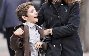 La reina y sus nietos se 'patean' Madrid