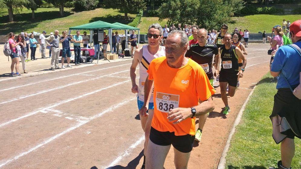 Foto: Fermín Cacho corrió este sábado en el II Memorial Atletismo Miguel de la Quadra-Salcedo. (Foto: EC)