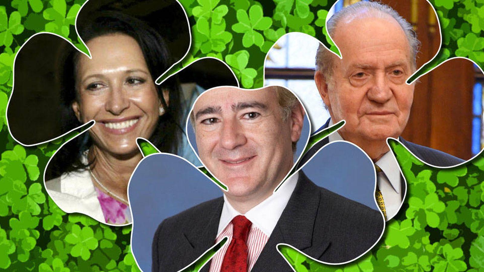Foto: Juan Carlos, Marta Gayá y su 'celestino' mexicano.