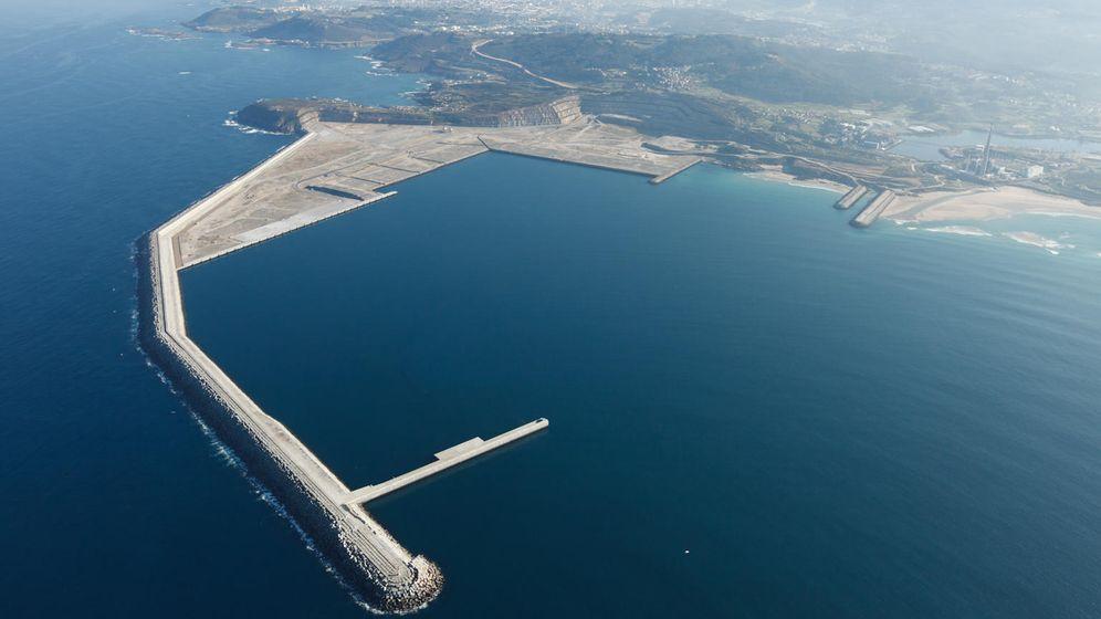 Foto: Puerto exterior de Suevos en Arteixo, A Coruña. (EFE)