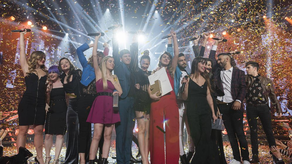 Foto: Todas las canciones de la última gala de 'Operación Triunfo'. (TVE)