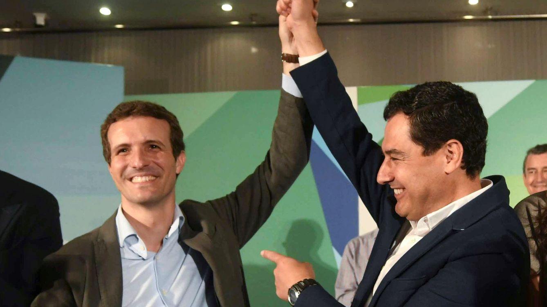 Casado fija Andalucía como su objetivo: Han construido una administración corrupta