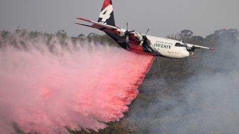 Mueren tres personas al estrellarse un avión cisterna durante los incendios de Australia