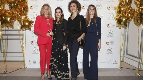 Naty Abascal, Mar Flores y Fiona Ferrer, solidarias con 'El sueño de Vicky'