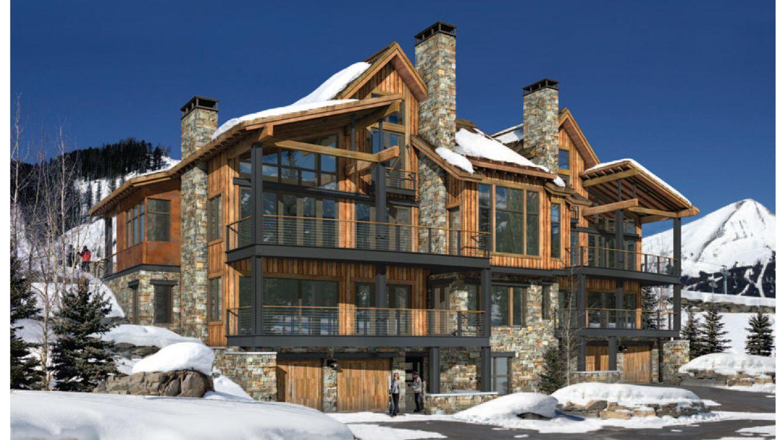Foto: Una casa semejante comprada en Yellowstone (Montana) puede costar entre 5 y 35 millones de dólares. (Yellowstone Club)