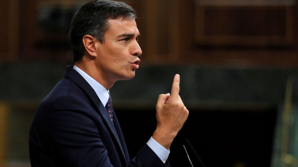 Foto: Comparecencia de Pedro Sánchez en el Congreso. (EFE)
