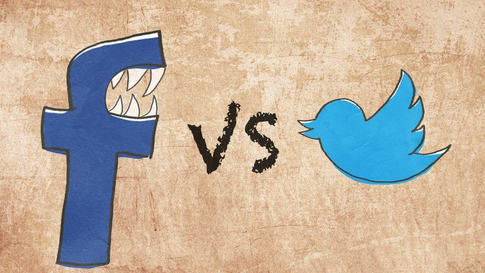 Foto: las dos grandes plataformas sociales viven suerte desigual en el mercado