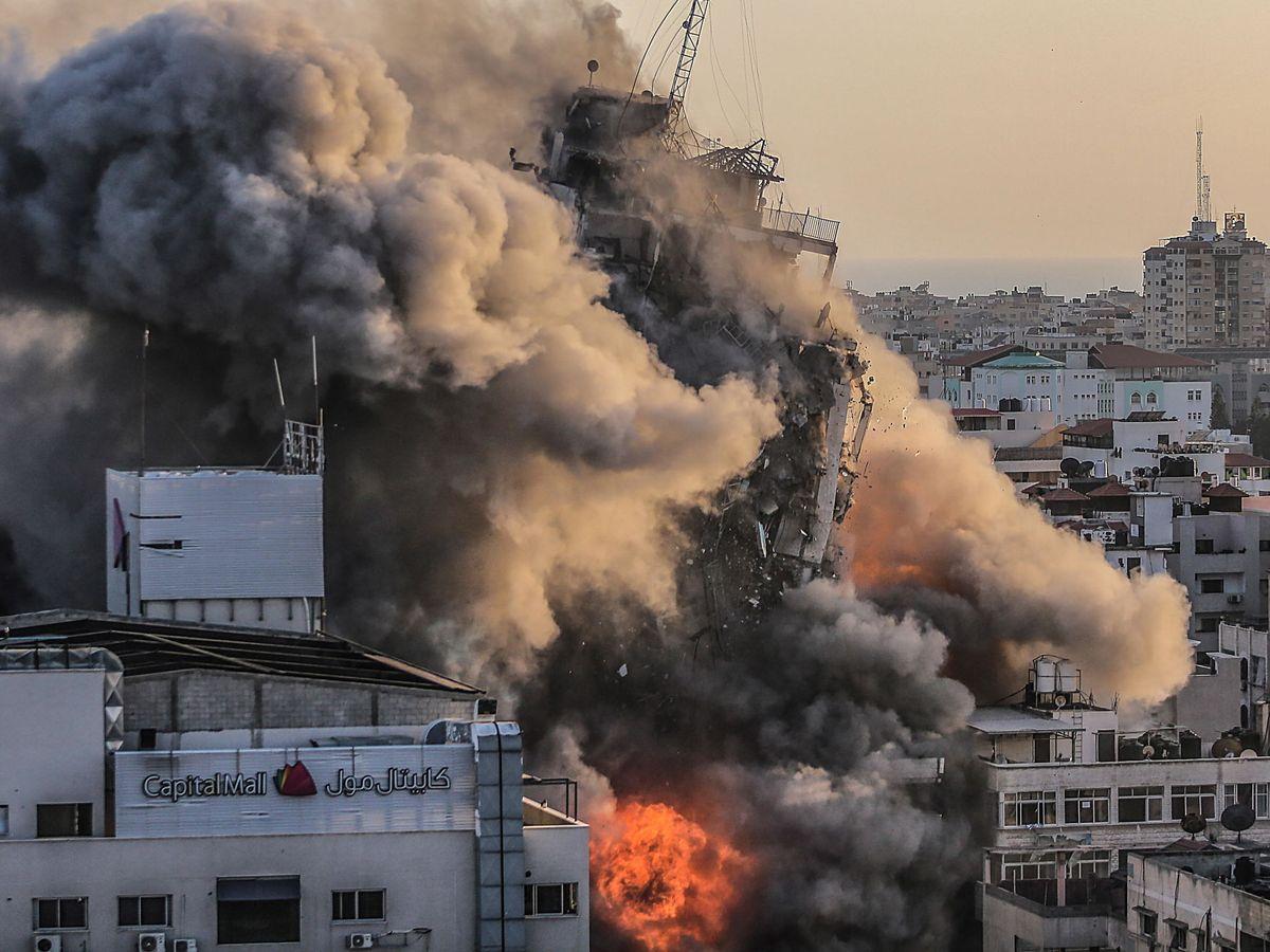 """Israel logra interceptar el 90% de los cohetes, pero Hamás advierte de """"una  respuesta más amplia"""""""
