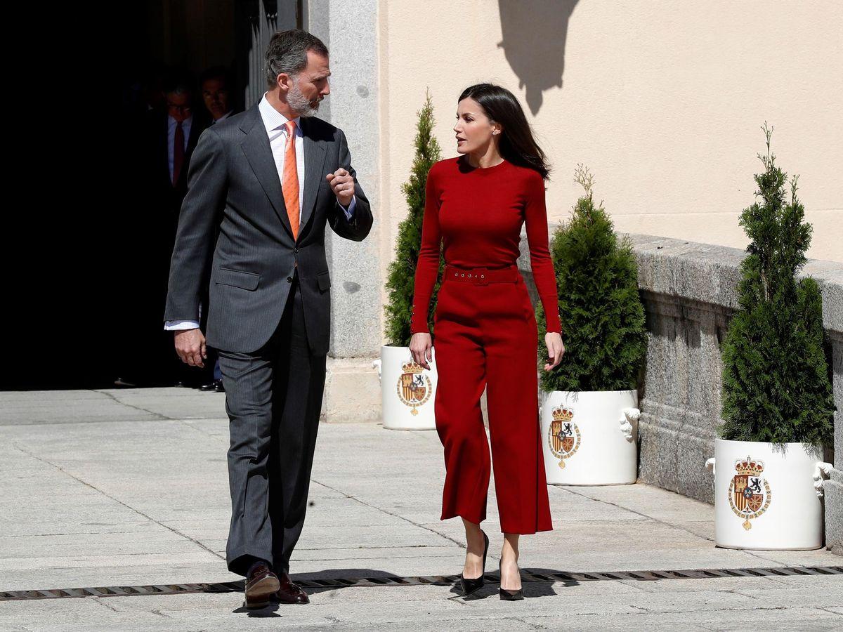 Foto: Felipe VI y Letizia, en una imagen de archivo. (EFE)