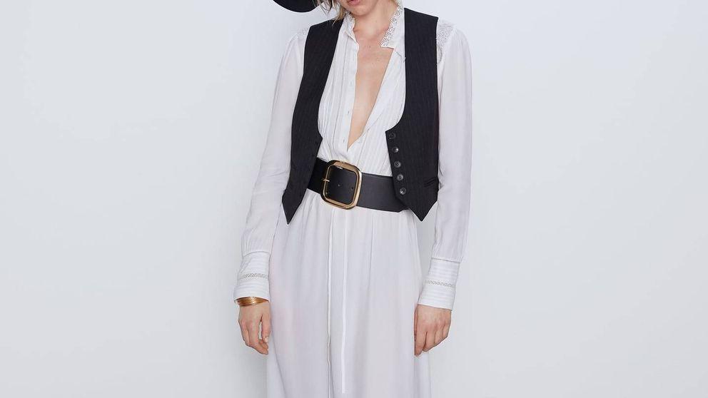 Este vestido de Zara es tan bonito, tan estilizador y tan boho que será viral