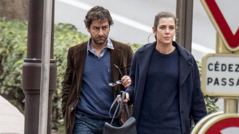 Calota Casiraghi y Lamberto Sanfelice. (CP)
