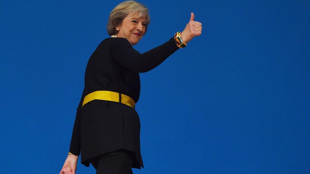 Foto: La primera ministra de Reino Unido, Theresa May. (EFE)