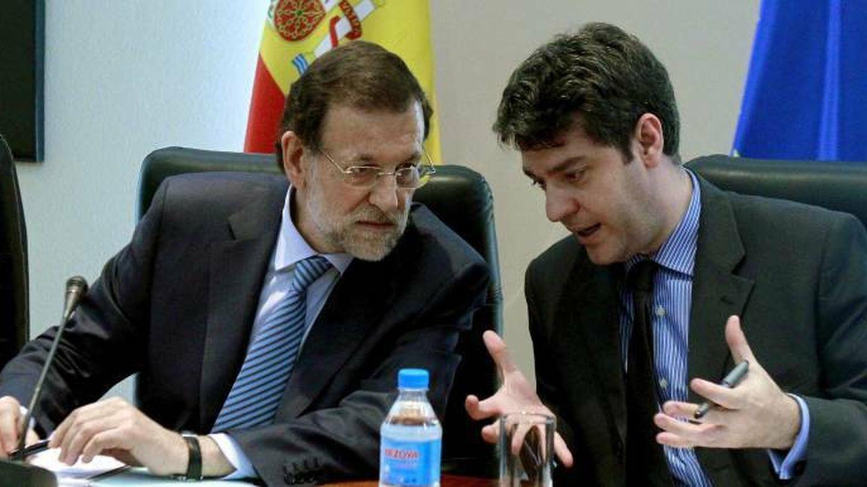 Rajoy con dirigentes asociación constructores europeos de automóviles