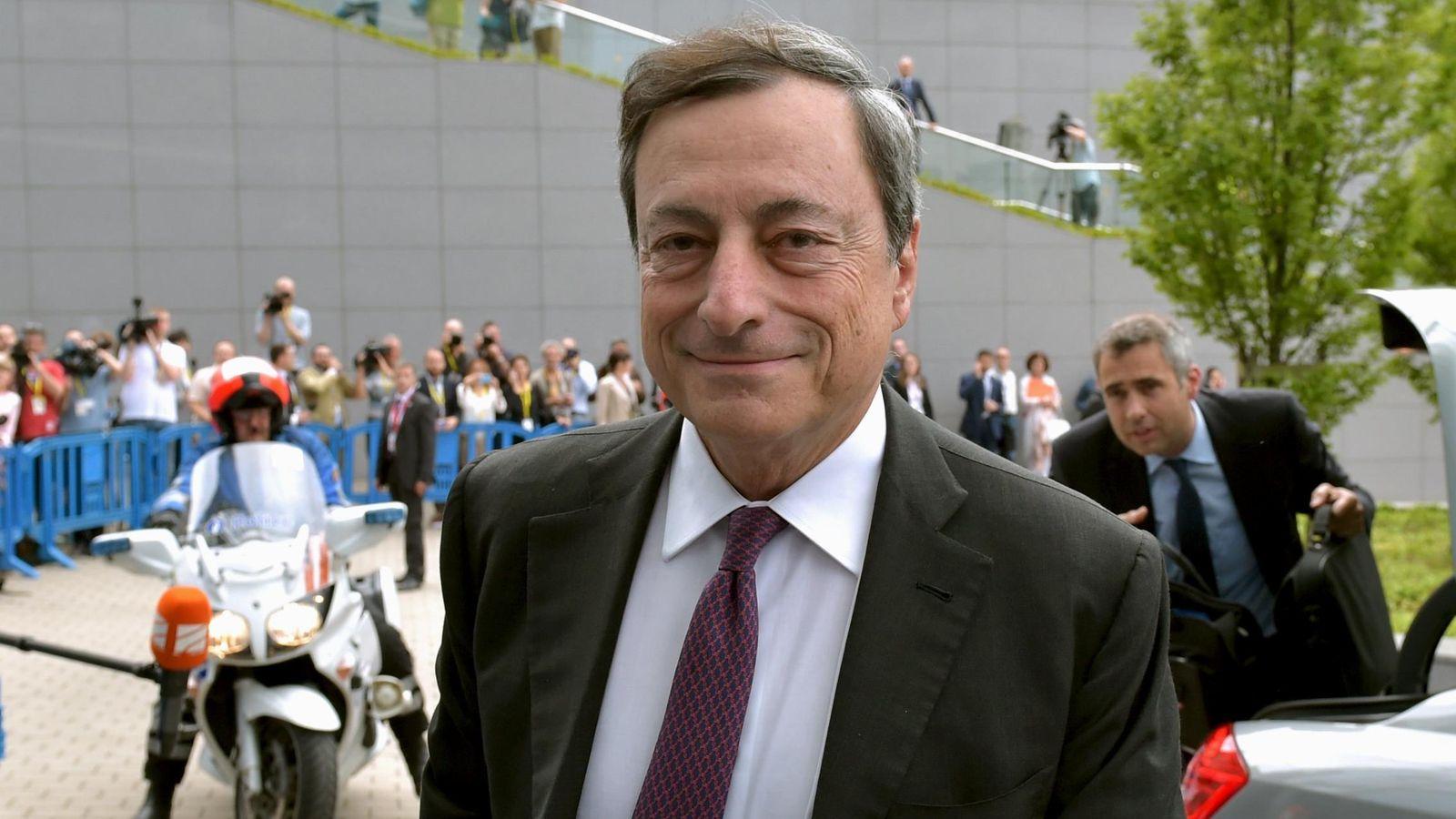 Foto: El Presidente del Banco Central Europeo. (Reuters)