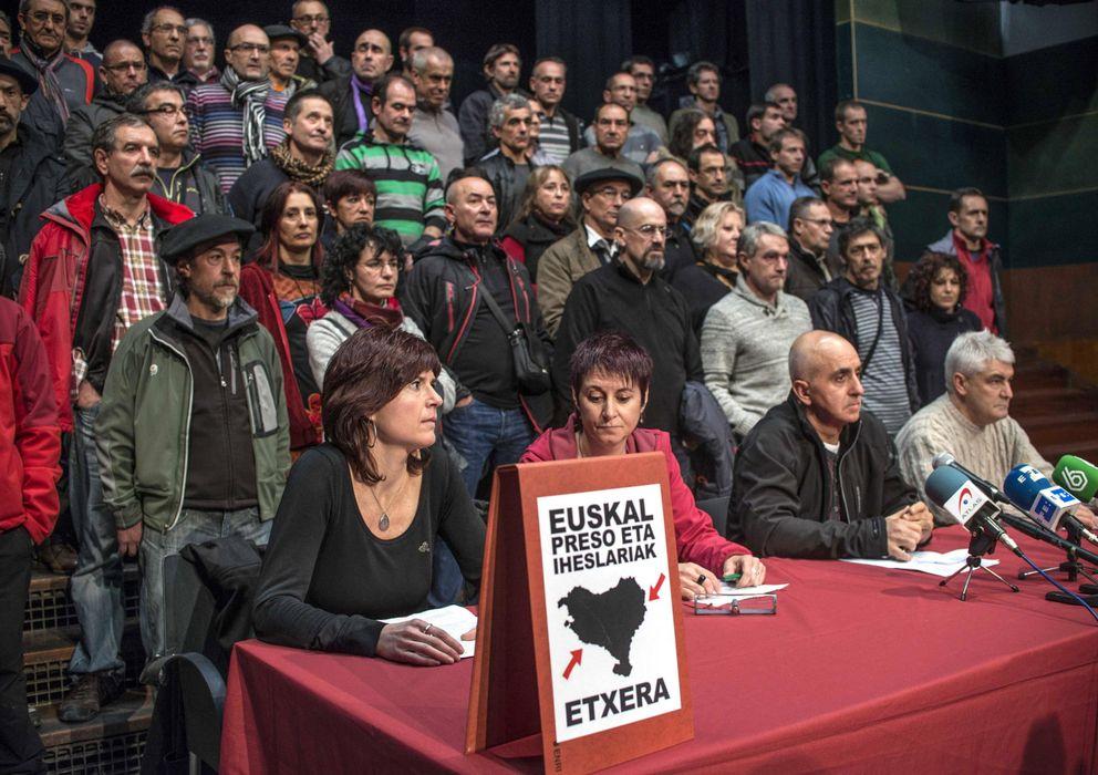 """Foto: Excarcelados de ETA piden """"el derecho a decidir"""" para solucionar el conflicto. (EFE)"""