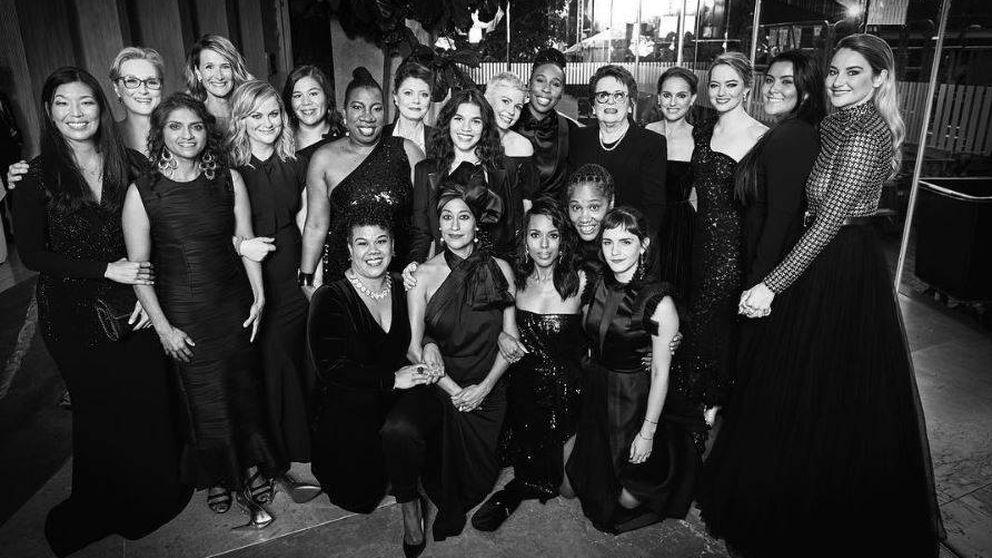 La imagen de Emma Watson que demuestra el 'woman power' de los Globos de Oro