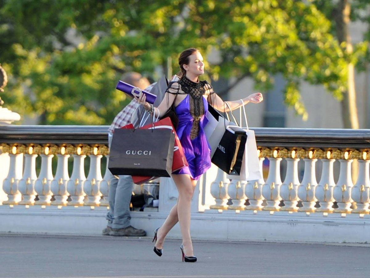 Foto: De compras en 'Gossip Girl'.