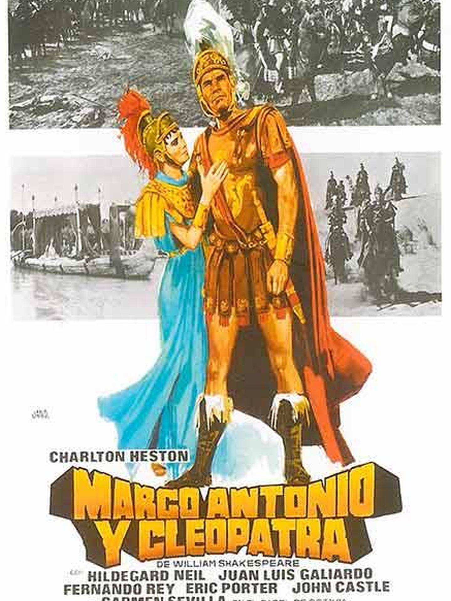 Cartel de 'Marco Antonio y Cleopatra'.