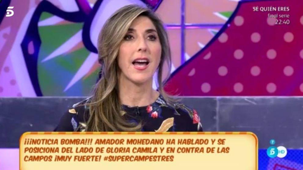 Belén Esteban abandona 'Sálvame' tras un 'insulto' de Paz Padilla