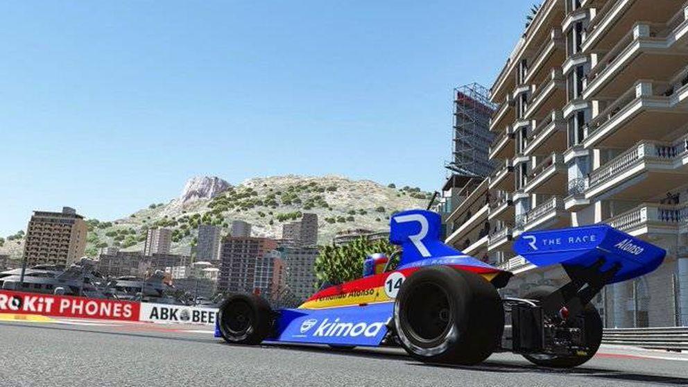 Fernando Alonso no tiene rival y así se llevó el Gran Premio de Mónaco virtual