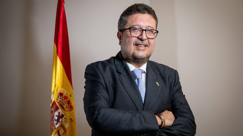 Francisco Serrano, portavoz de Vox en Andalucía. (Fernando Ruso)