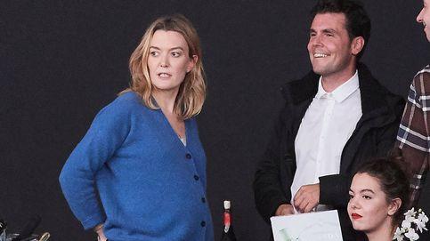 Marta Ortega luce embarazo junto a su marido y su ex en la Madrid Horse Week