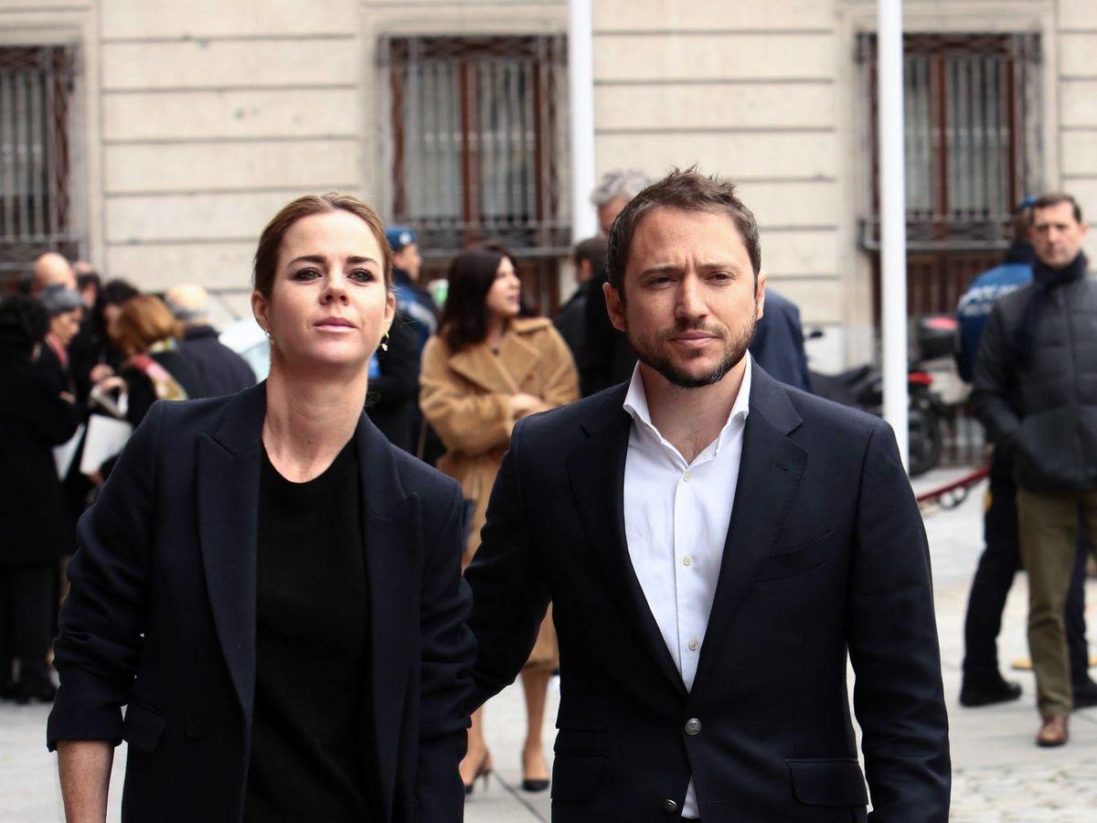 Foto: Amelia Bono y Manuel Martos, en una imagen de archivo. (Cordon Press)